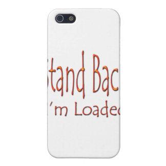 Stehen Sie zurück mich sind geladenes ylw iPhone 5 Case