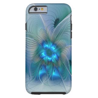 Stehender Applaus, abstraktes blaues Tough iPhone 6 Hülle