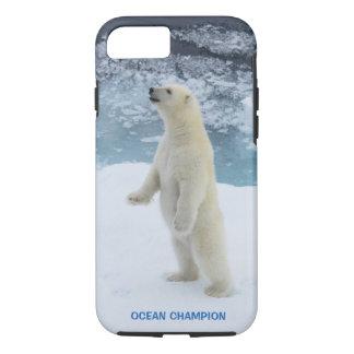 Stehender arktischer polarer Bär iPhone 8/7 Hülle