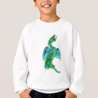 stehender Drache standing dragon Sweatshirt