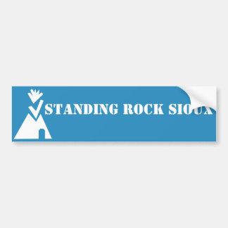 Stehender Felsen Sioux Autoaufkleber