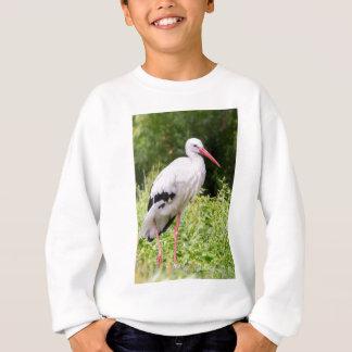 Stehender Storch Sweatshirt