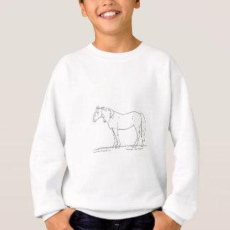Stehendes Pferd Sweatshirt