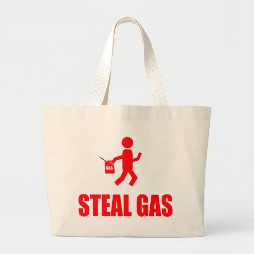 Stehlen Sie Gas Leinentasche