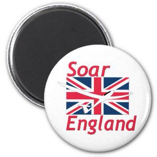 STEIGEN ENGLAND-GANG AN RUNDER MAGNET 5,1 CM