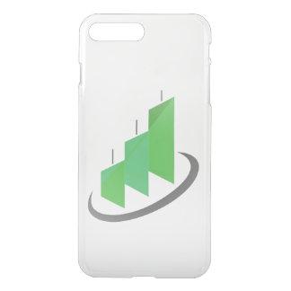 Steigen Logo-Telefon-Kasten auf iPhone 8 Plus/7 Plus Hülle