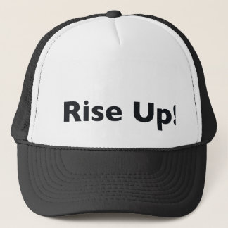 Steigen Sie oben! Truckerkappe