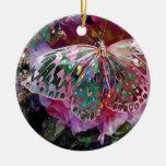 Steigender Dämmerungs-Schmetterling Ornamente