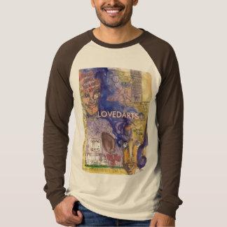 Steigern Sie LOVEDARTS longsleeve tan/braunen T-Shirt
