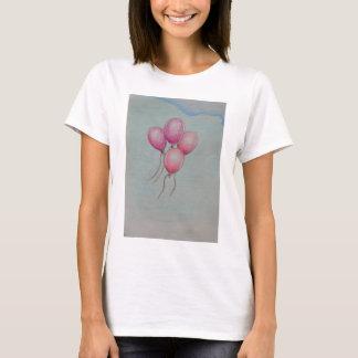 steigt Geburtstag im Ballon auf T-Shirt