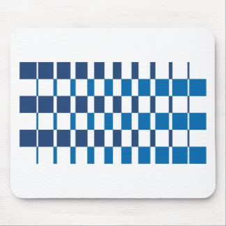 Steigungs-Blau Mousepad