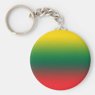 Steigungsflagge von Litauen-Farben Schlüsselanhänger