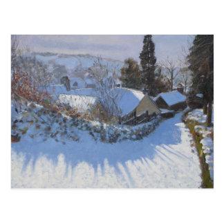 Steiler Hügel Wirskworth Derbyshire 2009 Postkarte