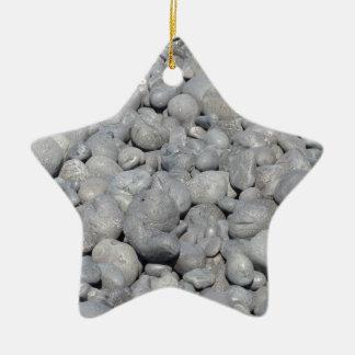 Stein Keramik Stern-Ornament