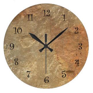 Steinblick-Küchen-Wanduhren Uhr