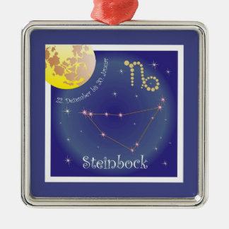 Steinbock 22. Dezember bis 20. Januar Ornament