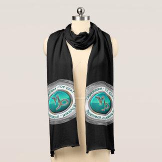 Steinbock - das Ziegen-Tierkreis-Zeichen Schal