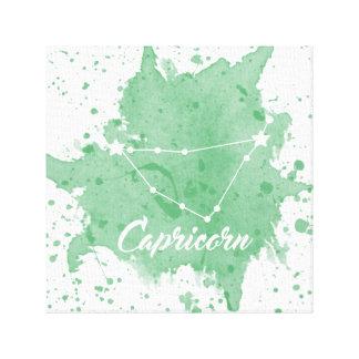 Steinbock-grüne Wand-Kunst Leinwanddruck