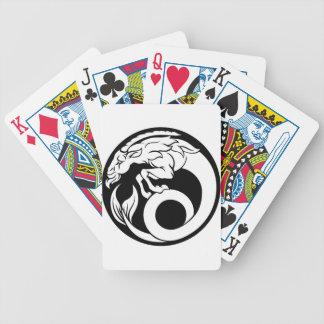 Steinbock-Horoskop-Tierkreis-Zeichen Bicycle Spielkarten