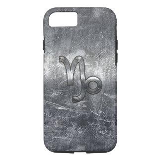 Steinbock-Tierkreis-Symbol-Schmutz beunruhigte Art iPhone 8/7 Hülle