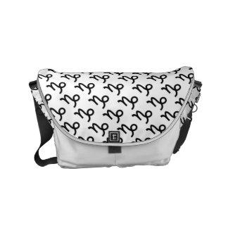 Steinbock-Tierkreis-Symbol-Standard Kurier Taschen