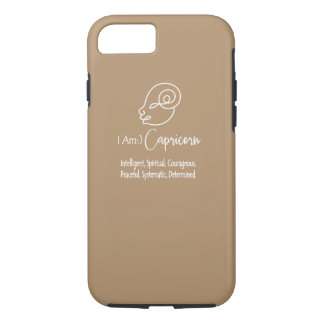 Steinbock-Tierkreis-Zeichen die Ziege gefror iPhone 7 Hülle