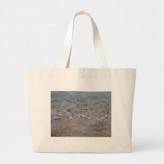 Steine in der Ostsee Einkaufstasche