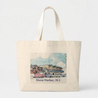Steinhafen-Strand-Tasche