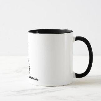 Steinhaufen Tasse