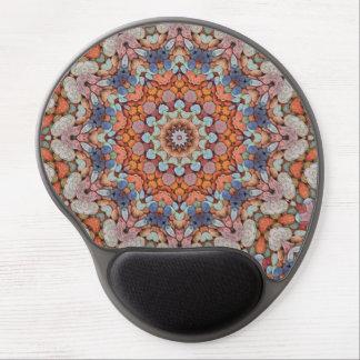 Steinige Weg-Vintages Kaleidoskop-Gel Mousepad