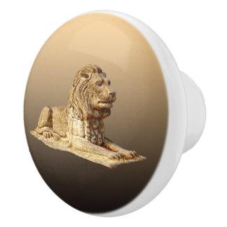 Steinlöwe Keramikknauf