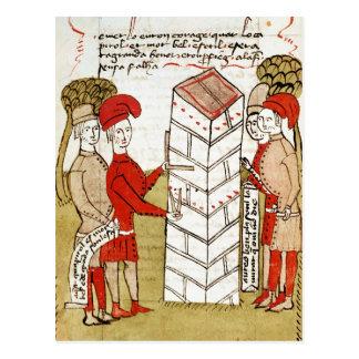 Steinmetze, von 'Traite d'Arpentage Postkarte