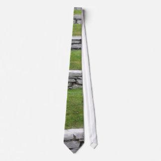 Steinrasenebenen Individuelle Krawatten