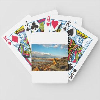 Steinstrand auf der Insel Pag in Kroatien Bicycle Spielkarten