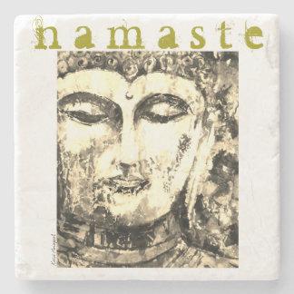 SteinUntersetzer Buddhas Namaste