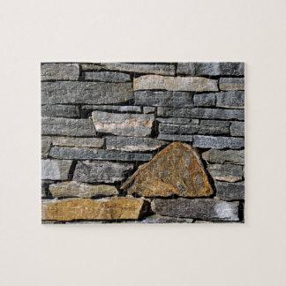 Steinwand Puzzle