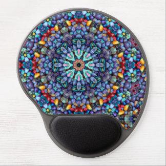 Steinwunder-Vintages Kaleidoskop-Gel Mousepad