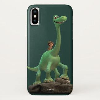 Stelle und Arlo auf Felsen iPhone X Hülle