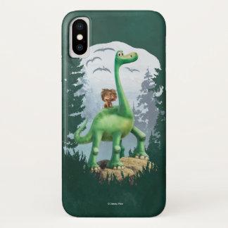 Stelle und Arlo im Wald iPhone X Hülle