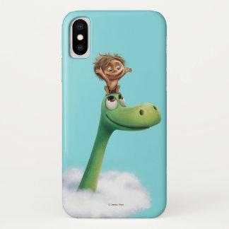 Stelle und Arlo Kopf in den Wolken iPhone X Hülle
