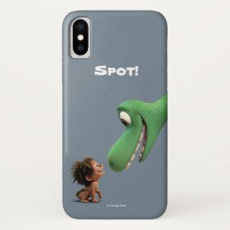 Stelle und Arlo Nahaufnahme iPhone X Hülle