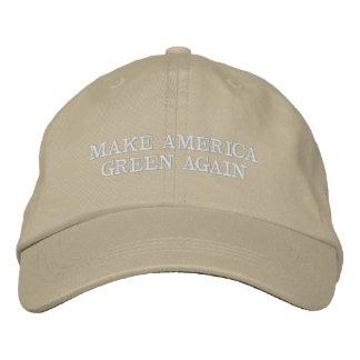 Stellen Sie Amerika grünen Hut her