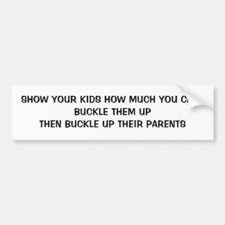 Stellen Sie dar, dass Ihren Kindern, die Sie sich Autoaufkleber
