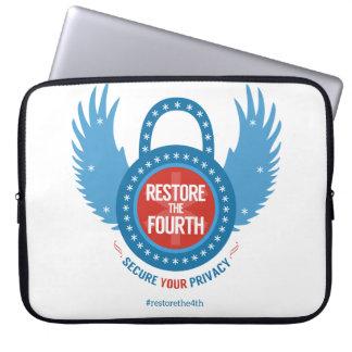 Stellen Sie das vierte… wieder her Laptopschutzhülle