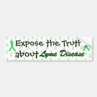 Stellen Sie die Wahrheit über Lyme Autoaufkleber