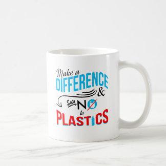 Stellen Sie eine Keramik-Tasse des Kaffeetasse