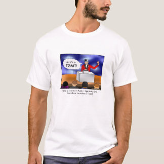 Stellen Sie einen Toast-Cartoon-T - Shirt her