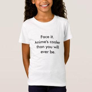 Stellen Sie es gegenüber. Die Animes, die cooler T-Shirt