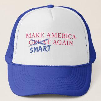 Stellen Sie Fernlastfahrer-Hut Amerikas Smart Truckerkappe