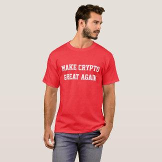 """""""Stellen Sie großes wieder"""" rotes erstklassiges T-Shirt"""